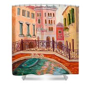 Ode To Venice Shower Curtain