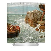 Odysseus And Polyphemus Shower Curtain