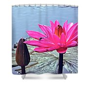 Of A Tropical Nature Shower Curtain