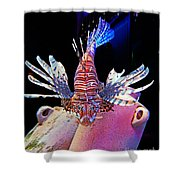 Of Danger And Grace Shower Curtain