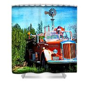 Of Days Gone By Shower Curtain