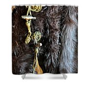 Of Fur And Rope Shower Curtain