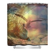 Of Lucid Dreams / Dreamscape 12  Shower Curtain