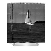 Of Sailers And Watermen Shower Curtain