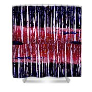Of Stripes Shower Curtain