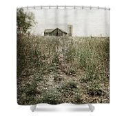 Off In The Distance Shower Curtain