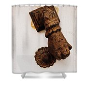 Off It's Knocker Shower Curtain
