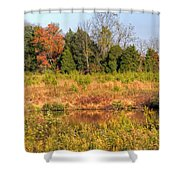Off Knight's Road Shower Curtain