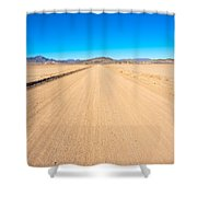 Off-road To Death Valley National Park Shower Curtain