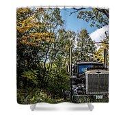 Off Road Trucker Shower Curtain