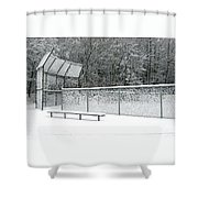 Off Season Shower Curtain