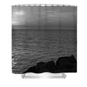Off The Rocks Shower Curtain