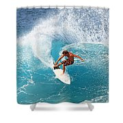 Off The Wall - North Shore Shower Curtain