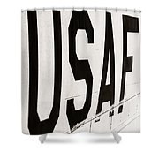 Off We Go Shower Curtain