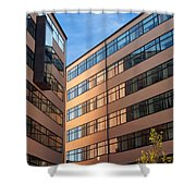 Office Building Malmo Shower Curtain
