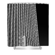 Office Tower  Montreal, Quebec, Canada Shower Curtain
