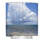 Offshore Storm Shower Curtain