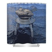 Offshore Turret Shower Curtain