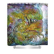 Offspring Of Tiamat - The Fomorii Union Shower Curtain by Otto Rapp