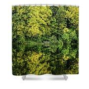 Ogle Lake Reflections 2 Shower Curtain