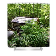 Ogle Tub Mill Roaring Fork Smoky Mountains Shower Curtain
