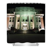 Oglebay Hall At Night Shower Curtain