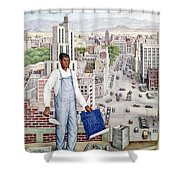 Ogorman: City Of Mexico Shower Curtain