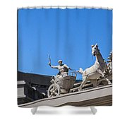Oh Chariot Shower Curtain