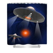 Oh - I Believe 2 Shower Curtain
