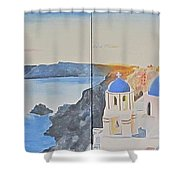 Oh Island In The Sun... Shower Curtain
