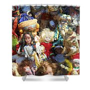 Oh Those Dolls Shower Curtain