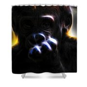Oh...hellro. V2 Shower Curtain