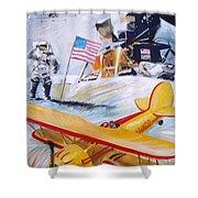 Ohio Aviation Shower Curtain