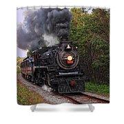 Ohio Central #1293 Steam Shower Curtain