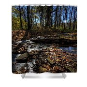 Ohio Fall Beauty Scene Shower Curtain