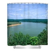 Ohio River Shower Curtain