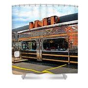 Ohio University Court Street Diner Shower Curtain