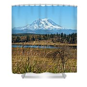 Ohop Valley Of Layers Shower Curtain
