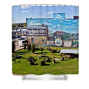 Oil And Gas Musem Shower Curtain