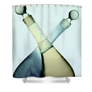 Oil And Vinegar Abstract Shower Curtain