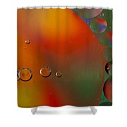 Oil And Water 10 Shower Curtain