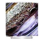 Oil And Water 29 Shower Curtain by Sarah Loft