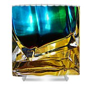 Oil And Water 3 Shower Curtain