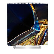 Oil And Water 5 Shower Curtain