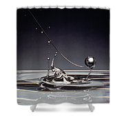 Oil Drops Shower Curtain
