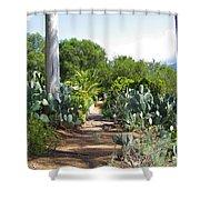 Ojai Desert Garden Shower Curtain