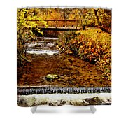 Okanagan Autumn Shower Curtain