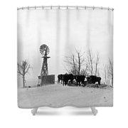 Oklahoma Dust Bowl, 1936 Shower Curtain