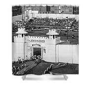 Oklahoma Prison Rodeo Shower Curtain