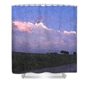 Oklahoma Storm Clouds 1 Shower Curtain